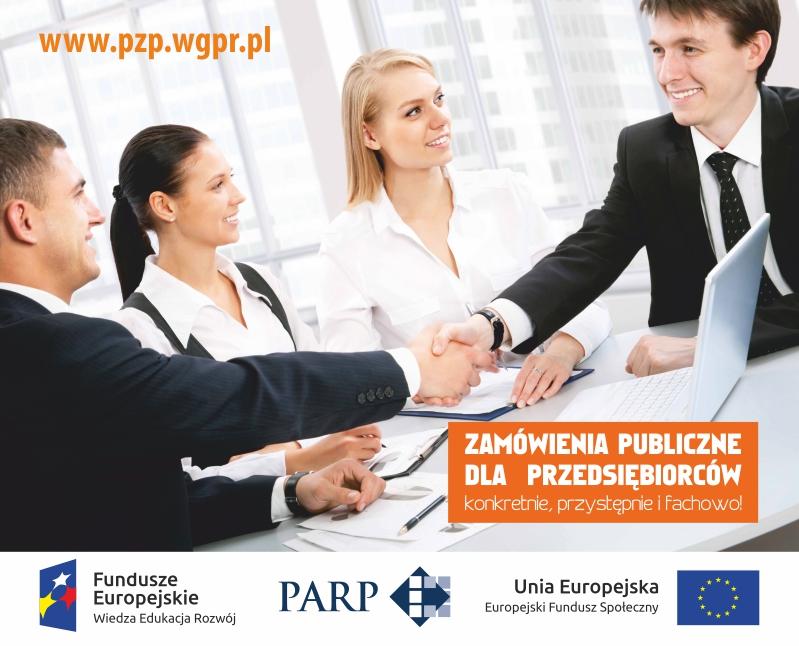 """Zapraszamy do udziału w projekcie """"Zamówienia publiczne dla przedsiębiorców – konkretnie, przystępnie i fachowo!"""""""