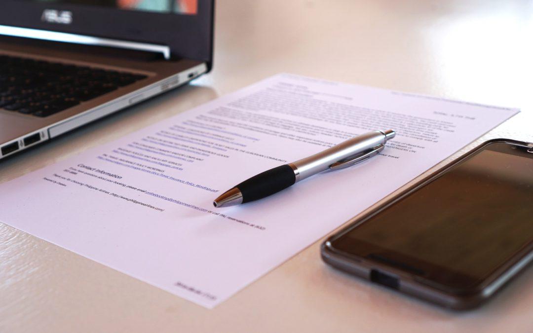 Obowiązek publikacji ogłoszenia o zmianie umowy